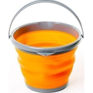 Ведро складное силиконовое Tramp TRC-091-orange
