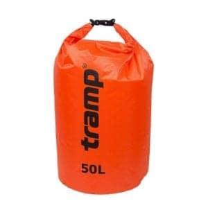 Гермомешок PVC Diamond Rip-Stop 50л Tramp TRA-208-orange