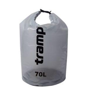 Гермомешок прозрачный 70л Tramp TRA-108