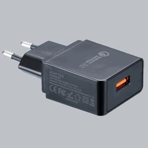 Сетевой адаптер Nitecore с поддержкой Quick Charge 3.0 (3A)