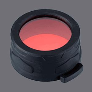 Фильтр для фонарей Nitecore NFR50 ударопрочный красный